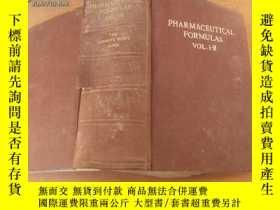 二手書博民逛書店英文原版:Pharmaceutical罕見Formulas(Vo