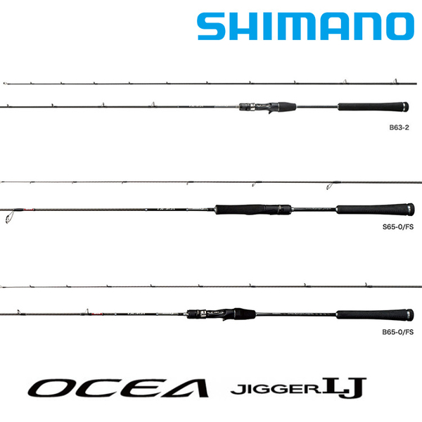 漁拓釣具 SHIMANO OCEA JIGGER LJ S62-1 FS [海水路亞竿]