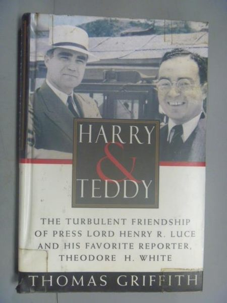 【書寶二手書T8/原文書_QIK】Harry and Teddy_Thomas Griffithed