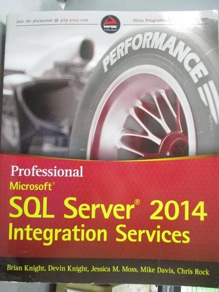 【書寶二手書T1/電腦_YHB】Professional Microsoft SQL Server 2014 Integration…
