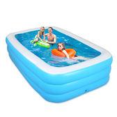 (限時88折)家庭兒童充氣遊泳池 嬰兒小孩家用水池XW