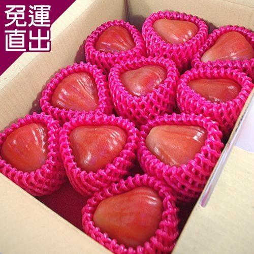 鮮果日誌 六龜鄉特級黑鑽石蓮霧禮盒2.5台斤【免運直出】