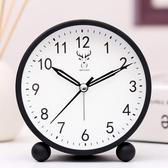 鬧鐘 鬧鐘學生用床頭靜音創意簡約臥室家用卡通電子擺件小鬧鐘