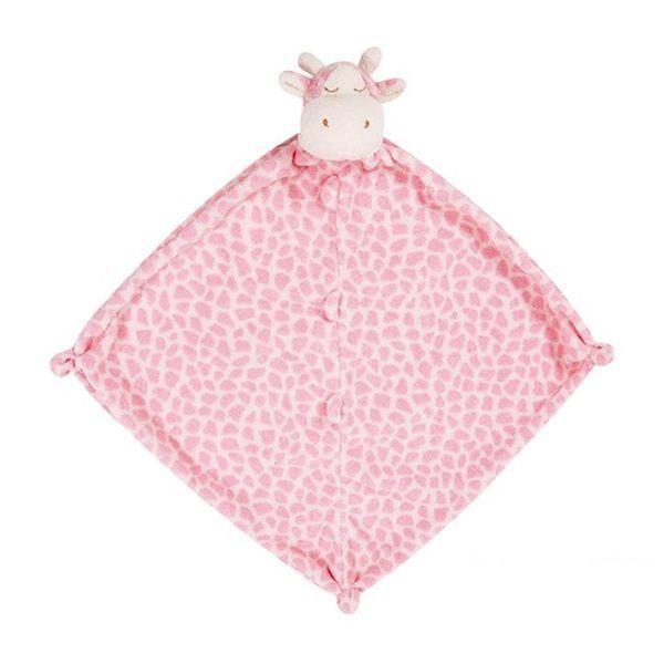 美國Angel Dear 動物嬰兒安撫巾 粉紅長頸鹿