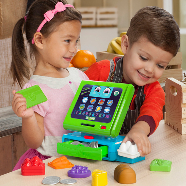 LeapFrog 美國跳跳蛙 互動學習收銀機 / 兒童學習玩具 / 早教玩具 (適合2歲以上)