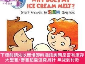 二手書博民逛書店罕見原版 妙答STEM:雪糕會融化?Ice Cream Melt? STEAM與百Y454646 Vicki