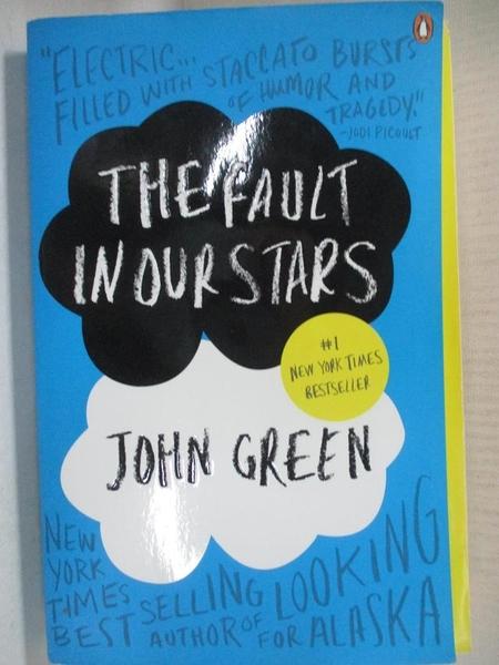 【書寶二手書T1/原文小說_DAI】The Fault in Our Stars_Green, John