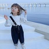 女童長袖T恤春秋款小女孩秋裝2020新款 泡泡袖兒童寶寶打底衫上衣 怦然心動