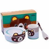 TC米樂兒童餐具4件組 棕熊
