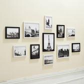 618好康鉅惠11框簡約歐式創意黑白組合照片墻客