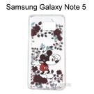 迪士尼空壓氣墊軟殼 [花草] 米奇 Samsung Galaxy Note 5 N9208【Disney正版授權】