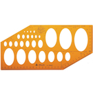 Tomato 鉛筆針筆兩用 橢圓板凸點 /片 957 4194