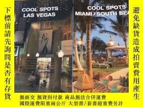 二手書博民逛書店英文原版:Cool罕見Spots Las Vegas+Cool