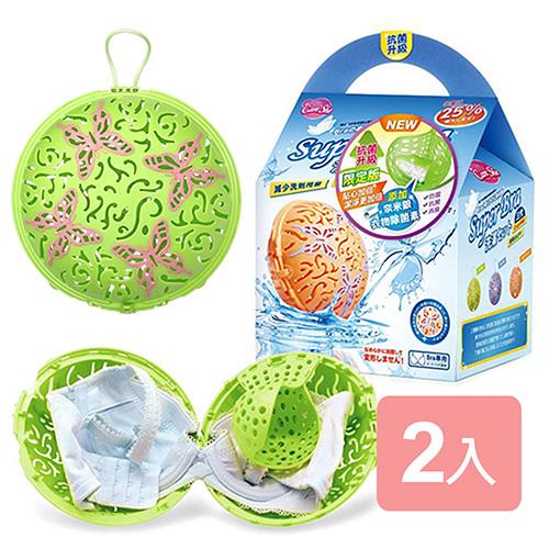 《真心良品》抗菌升級版第三代洗衣球2入組