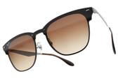RayBan太陽眼鏡RB3576N 04113 (槍-漸層棕鏡片) 潮流眉框設計款 # 金橘眼鏡