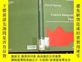 二手書博民逛書店Convex罕見Integration TheoryY17150