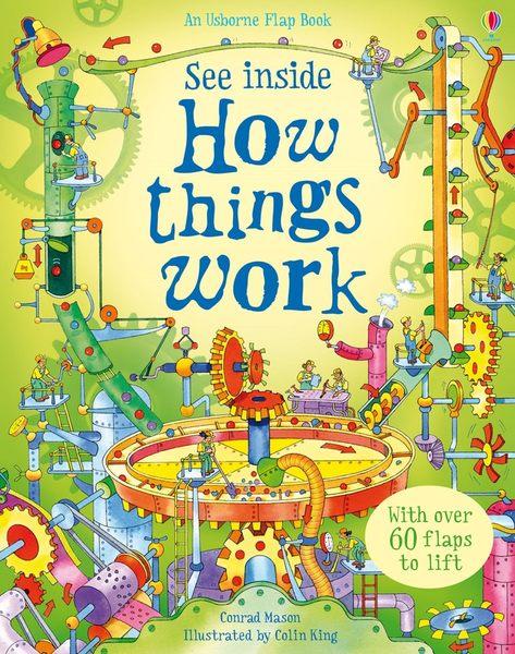 【科學操作書】SEE INSIDE HOW THINGS WORK / 硬頁精裝