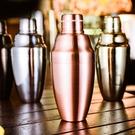 調酒器 日式不銹鋼三段調酒器雪克壺搖酒器調酒壺搖酒壺金色調酒具 米家