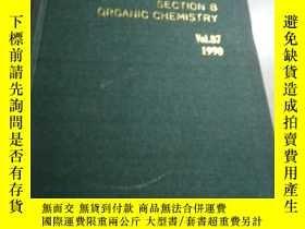 二手書博民逛書店Annual罕見Reports(年度報告)Vol.87 1990