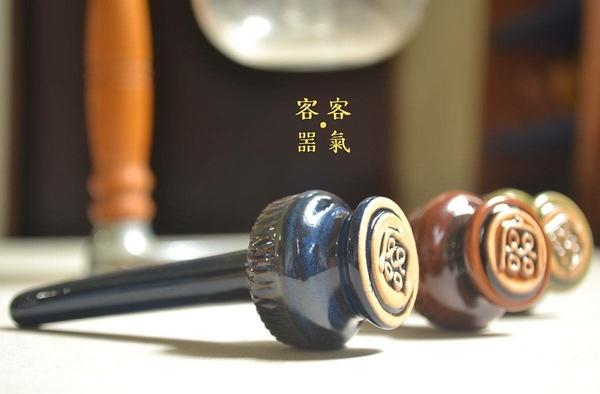 【沐湛咖啡】客噐客氣 陶瓷濾棒 油脂保留效果極佳 口感滑順 圓潤 虹吸壺濾棒 藍色 TCA-3 KONO