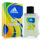 ADIDAS 愛迪達 預備森巴男性淡香水(100ml)