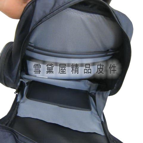 ~雪黛屋~CONFIDENCE 後背包大容量可A4資料夾台灣製70/200D防水尼龍布外出上學上班ACB6271