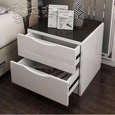 床頭櫃經濟型臥室簡約現代床邊小櫃子儲物櫃多功能簡易迷你收納櫃 LX 【四月特賣】