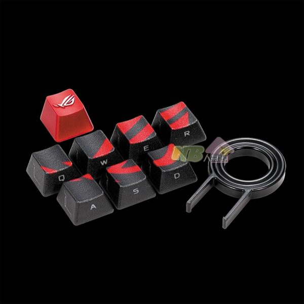 華碩 ASUS ROG 電競 鍵帽組 鍵盤零件