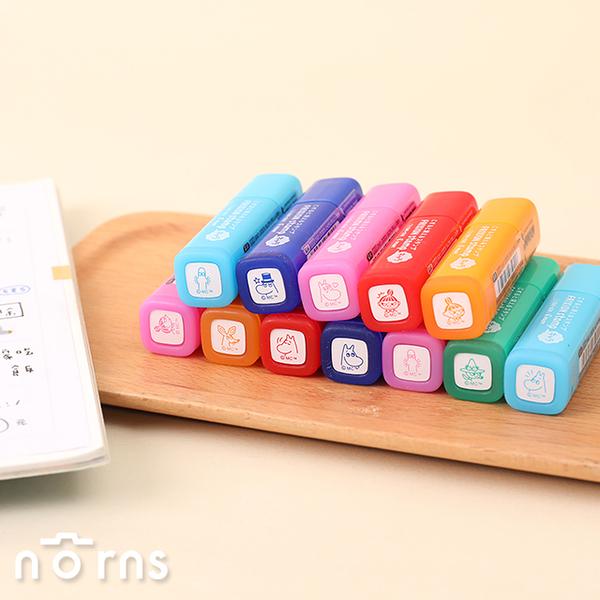 日本Pilot Frixion stamp可擦式印章 Moomin家族- Norns 嚕嚕米 小不點 魔擦擦印 百樂印章 日本進口