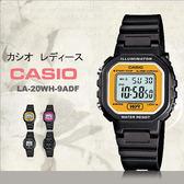 CASIO LA-20WH-9A 精巧方形復古電子錶 LA-20WH-9ADF 熱賣中!