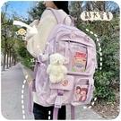 大容量書包女生可愛日系學院風小學生初中生原創小眾設計雙肩背包 印象家品