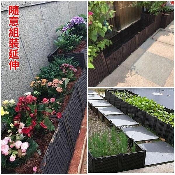 【JIS】N056 加高二格種植箱 種菜箱 組合式種植箱 栽培箱 種菜盆 家庭農園 花園種菜