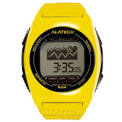 ALATECH FB005Y 專業健身 心率錶 – 黃色