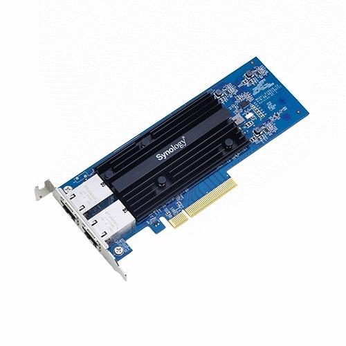 Synology 群暉 E10G18-T2 NAS 伺服器高速10GbE RJ45 (雙埠) 擴充卡