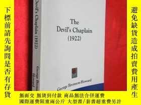 二手書博民逛書店The罕見Devil s Chaplain (1922) (小1