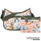 LeSportsac - Standard 側背水餃包/流浪包-附化妝包 (綻放藝彩) 7520P F906