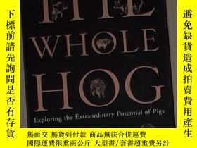 二手書博民逛書店英文原版罕見The Whole Hog by Lyall Wat