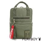 包包 兩側插袋可放摺疊傘與水壺 內置兩個收納袋及3C用品緩衝墊夾層