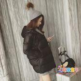 孕婦冬裝2018韓版寬鬆潮媽孕婦羽絨棉服中長款女加厚棉衣外套棉襖