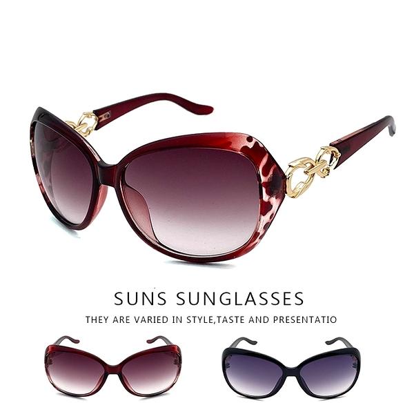 經典大框簍空造型墨鏡 時尚優雅太陽眼鏡 顯小臉墨鏡 夏日必備款 UV400標準局檢驗合格