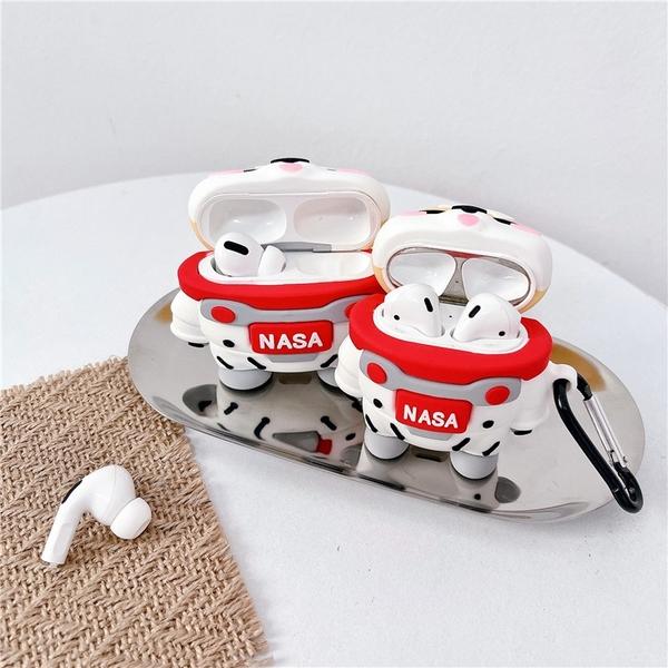 [ Airpods Pro 1/2 ] NASA 太空人柴犬 蘋果無線耳機保護套 iPhone耳機保護套