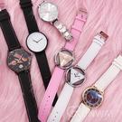 【R】超值回饋現貨-流行錶款 時尚好搭 簡約 文字特色 潮錶 圓形錶盤 大圓 手錶