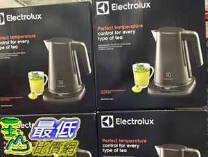 [COSCO代購] C119194 ELECTROLUX KETTLE伊萊克斯溫控電茶壺1.7L#EEK7814CH