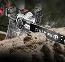 充電鋸 鋰電充電式單手電鏈鋸大功率家用小型手持電動戶外砍樹伐木鋸TW【快速出貨八折下殺】
