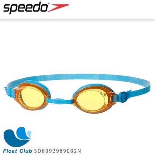 【SPEEDO】兒童款泳鏡 JET (藍/橘) 經濟優惠 SD8092989082N