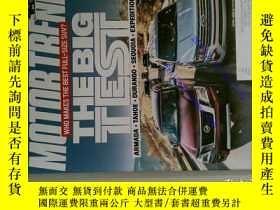 二手書博民逛書店MOTOR罕見TREND 汽車雜誌 2018 04 外文原版過期