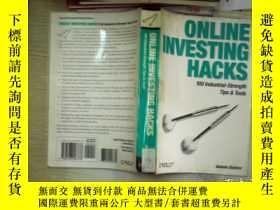 二手書博民逛書店ONLINE罕見INVESTING HACKS)(02)Y261