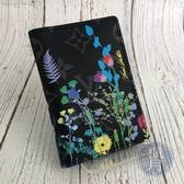 BRAND楓月 LOUIS VUITTON LV 路易威登 M69049 黑原花花卉卡夾 二折 印花 名片夾 皮夾 錢夾
