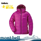 【Mont-Bell 日本 女 ALPINE 800FP 羽絨外套《深紫紅》】1101408/保暖/防風/抗寒