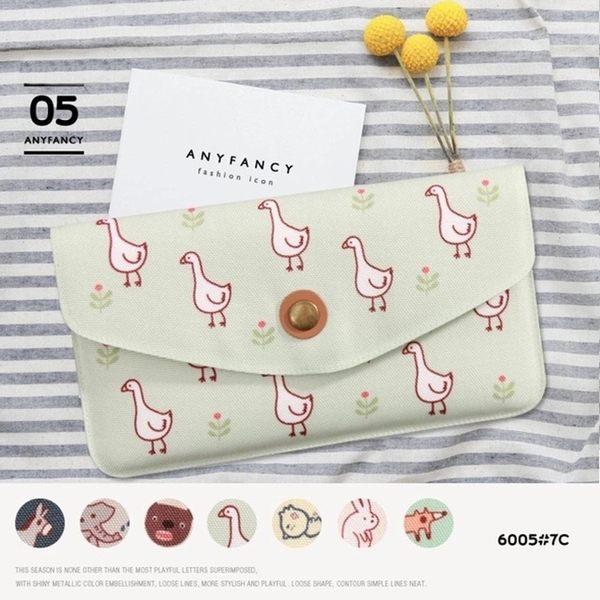長夾-可愛動物錢包/手機包/手拿包-共7色-S600005-FuFu